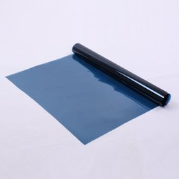 "Chinese  60""x20"" Decorative Solar Tint Film Dark Blue Window Tint Window Film 99%UV Proof Self Adhesive Sticker Decals Waterproof manufacturers"