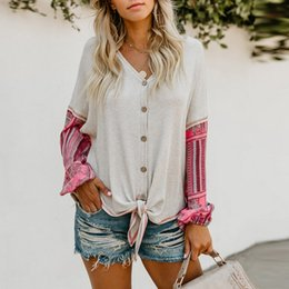 $enCountryForm.capitalKeyWord Australia - Bohoartist Casual Women Tops Loose Cardigan Lantern Sleeve Color Block Patchwork Girls Travel White Female Sweaters For Girl