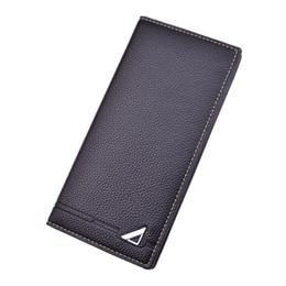 $enCountryForm.capitalKeyWord Australia - New Design RFID Blocking Full Grain Leather Vintage Bifold Long ID Cash Card Wallet Holder For Checkbook Credit Cards
