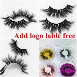 2ef428eb4a7 25 mm Long 3D Mink Eyelashes Private Label Free Mink Eyelash Extensions  Dramatic Thick Mink Lashes Cruelty free Fluffy Natural False Lashes