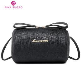Gold mini baG online shopping - Pink sugao designer luxury handbags purses women shoulder bags crossbody bag messenger bags new fashion pu leather bucket bags mini lovely