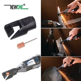 dremel saw NZ - Saw Sharpening Attachment Garden Tool Sharpener Adapter for Dremel drill rotary