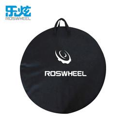 Roswheel bike bags online shopping - 1pcs ROSWHEEL MTB Mountain Road Bike Wheel Bag Wheelset Bag Transport Pounch Carrier organizer bags Bicycle storage
