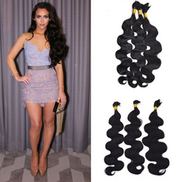 18 Inch Human Hair For NZ - 100% Brazilian Human Hair Body Wave Bulk For Braiding Hair 8-24 Inch In Stock For Black Women Free Shipping