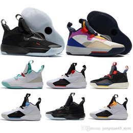 jade shoes Australia - Wholesale retail Utility Blackout Visible Utility 33 XXXIII basketball shoes 33s Jade Guo Ailun Tech Pack mens trainers sneakers 7-12