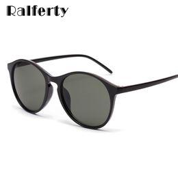 05b55b635f2f Discount sunglasses korea brand - Ralferty Vintage Sunglasses Women 2019  New Brand Round Sun Glasses Black