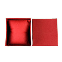 Watches Cases Sale UK - Raixa de relogio Hot Sale Durable Present Gift Box Case For Bracelet Bangle Jewelry Watch Box Unique Red wholesale Oct4