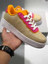 $enCountryForm.capitalKeyWord Australia - Most Hot Sale Genuine Leather Sports Shoes Woman Platform Triple Kanye Style Casual Shoes Fashion Popular Boy Girl Trend Sneakers Shoes