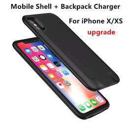 $enCountryForm.capitalKeyWord Australia - Mobile phone shell External Battery Case Power Charger Charging Cover Case Audio for iPhone X XS 5000mAh Charging Backpack portable source