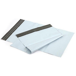$enCountryForm.capitalKeyWord Australia - White Shipping Bag 35*50cm Transport Packaging Express Courier Post Mail Self Adhesive Bags 100pcs pack WB624