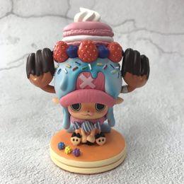 One Piece Figures Australia - Tony tony Chopper Ice cream Ver. cartoon anime figure toys ONE PIECE action kids collectible dolls PVC