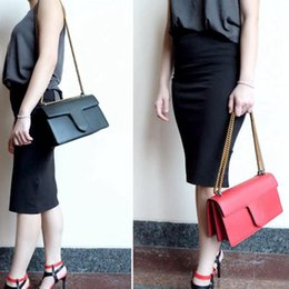 $enCountryForm.capitalKeyWord Australia - New leather lady's handbag,Head layer cowhide,Large capacity,Double heart decoration,28cm chain shoulder bag,Lock bags,Marmont bag 431777