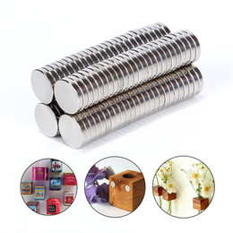 $enCountryForm.capitalKeyWord Australia - Hardware Magnetic Materials 100pcs 10*2 10*2mm N52 Super Strong Powerful Small Round Rare Earth Neodymium Disc Magnets 10x2mm