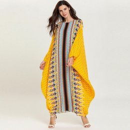 Clothes bust online shopping - Dress Length cm Bust Fashion Dresses Bazin Print Dashiki Women Long grown Yomadou Color Pattern Oversized Africa Clothing