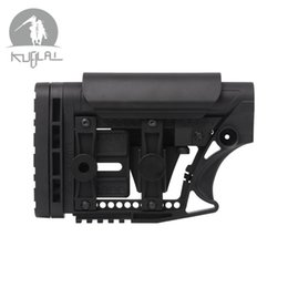 Paintball cs online shopping - LUTH MBA MBA STYLE Adjustable Extended STOCK CS Sports Paintball Airsoft Tactical BD556 Receivers Gearbox