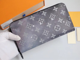RiveRs photos online shopping - Pattern and dazzling star river zipper long wallet men and women fashion hand wallet