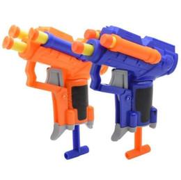 Nerf Guns Wholesale Australia - 2 style Kids Toys Soft EVA Bullet Toy Gun For NERF N-Strike Bullet Darts Round Head Blasters EP Children Educational Toys