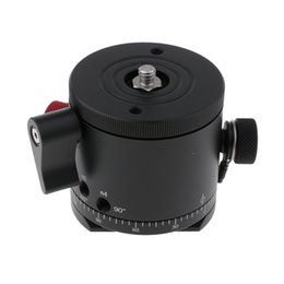 quick tripod UK - Aluminum Alloy Panoramic Indexing Rotator + Top Clamp+ Bottom Quick Release Plate for Camera Camcorder and Tripod Mount
