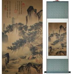 Silk Painting Fashion Australia - Traditional Chinese Landscape Art Painting Chinese Traditional Art Painting China Ink Painting Fashion Painting1906171133