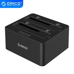 docking station hard drive Australia - omputer & Office ORICO 6629US3-C 2 Bay SATA to USB3.0 External Hard Drive Docking Station for 2.5 3.5HDD with Duplicator Clone Function-B...