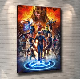 Avengers Wall Decor Australia - (Unframed Framed) Avengers Movie Poster -05,1 Pieces Canvas Prints Wall Art Oil Painting Home Decor 24X36.