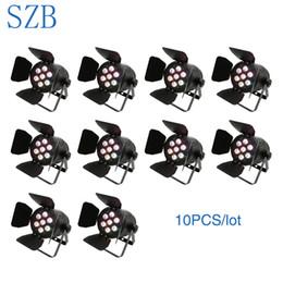 $enCountryForm.capitalKeyWord Australia - SZB 10pcs lot LED Par Light 7x10w Par LED Light RGBW DMX Par Cans Stage Lighting SZB-PL0710