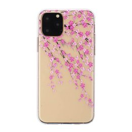 $enCountryForm.capitalKeyWord Australia - Embossed Lace Soft TPU Case For Samsung Note 10 Pro Iphone 11 2019 Feather Transparent Henna White Floral Paisley Flower Dandelion Gel Cover