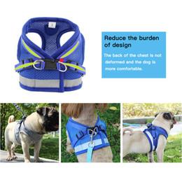 $enCountryForm.capitalKeyWord Australia - Dog harness pet adjustable sun vest walking leash for puppy polyester mesh harness for small medium dog