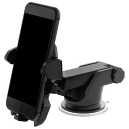 Chinese  Universal Mobile Car Phone Holder 360 Degree Adjustable Window Windshield Dashboard Holder Stand For All Cellphone GPS Holders manufacturers