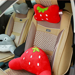 $enCountryForm.capitalKeyWord Australia - Car Neck Pillow Cute Animal Travel Pillow Car Seat Cushion Cover Neck Support Headrest
