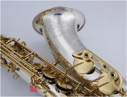 $enCountryForm.capitalKeyWord Australia - New Tenor Saxophone YANAGISAWA T-W037 Musical Instruments Bb Tone Nickel Silver Plated Tube Gold Key Sax With Case Mouthpiece