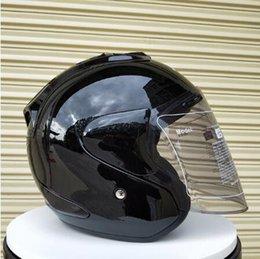 Venta al por mayor de ARAI R4 Casco de moto 3/4 Casco abierto de casco vintage Moto Casque Casco Motocicleta Capacete Cascos
