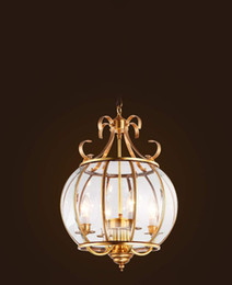 $enCountryForm.capitalKeyWord Australia - Modern Copper Pendant Lamp Transprent Glass Shade Pendant Light Shopcase Light E27 Industrial Rural Co Indoor Lighting Luminares