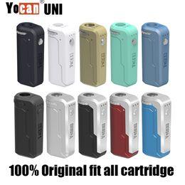 Аутентичные yocan уни мод ты можешь удобной коробке разогреть напряжения регулируемая ручка Vape с 650mah 500mah аккумулятор для 510 нить адаптер масляного картриджа на Распродаже