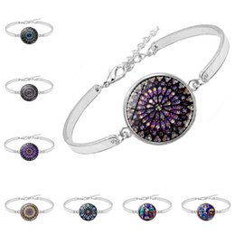 Picture bracelets online shopping - Notre Dame de Paris Bracelet Fashion Girl Scenery Art Picture Bracelet Trendy Glass Dome Women Jewelry Party Gift TTA790