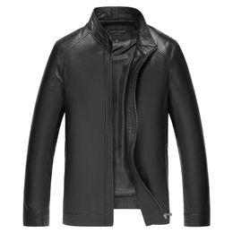 $enCountryForm.capitalKeyWord Australia - 2019 Hot Sale Jaqueta Couro Motorcycle Jacket Jacket Men's Sheepskin Leather Thin Short Self-cultivation Korean Version Chunqiu