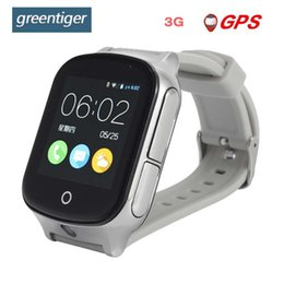 Discount gps locate - Greentiger GPS 3G A19 Smart Kids Watch WIFI SOS LBS Camera child smartwatch Locate Finder emergency call Baby student Sa