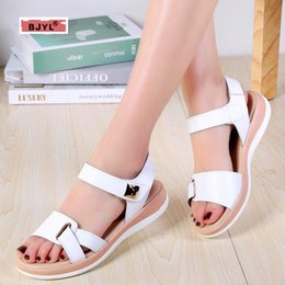 62d09a1c9989 Wedge sandals rubber soles online shopping - Women s Sandals New Summer  Leather Hollow Sandals Women