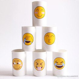 $enCountryForm.capitalKeyWord Australia - 6 Designs Lovely Smiling Face Emoji Mug Porcelain Poop Shit Cup Cartoon Amused And Sad Cool Couple Mugs Coffee Cups XL-409