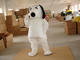 Halloween Costumes Mascots Australia - 2019 New Profession White Dog Mascot Mascot Costumes Halloween Cartoon Adult Fancy Party Dress free shipping