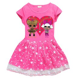 $enCountryForm.capitalKeyWord UK - Summer girls dresses 2 colors kids Clothes Fashion LOL Dolls Printed Girls dress kids designer clothes girls JY82