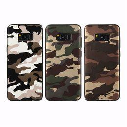 Core Prime Cases UK - Camouflage TPU Case for Samsung J2 J3 J4 Core J5 J6 J7 Pro J8 Prime NOTE8 NOTE9 Phone Back Cover