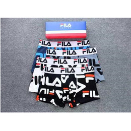$enCountryForm.capitalKeyWord Australia - Fashion Brand Underpant 4pcs lot FA Male Panties Cotton Men's Underwear Boxers Breathable Man Boxer Solid Printing Comfortable Brand Shorts