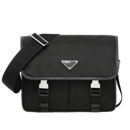 Wholesale 2019 Hot Fashion PRA Bags DA Best Men Women Shoulder Work bag Designer Luxury Briefcase Durable Computer Handbag With Dust Bag Box VD769