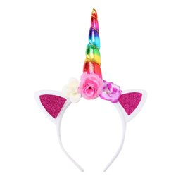 Girl's Accessories Sporting Party Supplies Girlss Cat Ears Headbands Crown Tiara Princess Plastic Animal Hair Band Butterfly Bow Hoop Accessories Headwear