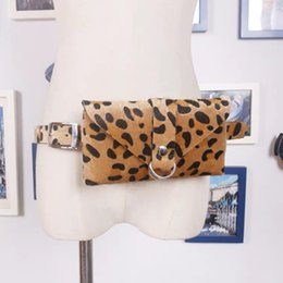 printed waist bag Australia - 2019 Fashion Leopard Print Waist Bag Leather Fanny Belt Pack Mini Women Chest Bag Luxury Belt Hot Sale Lady Gift