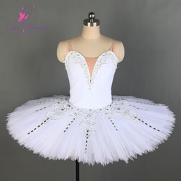 $enCountryForm.capitalKeyWord Australia - New white Professional Ballet Tutu Girl & Women Stage Performance Dance Costume Ballet Tutu Ballerina Dancewear