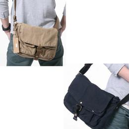 Cotton Canvas messenger men online shopping - 100 Cotton Man Fashionable Canvas Bag Male Shoulder Bags High Quality Laptop Briefcase bolsas femininas Men Messenger Bags