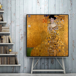 $enCountryForm.capitalKeyWord Australia - 100% Handpainted Abstract Famous Gustav Klimt Oil Painting on Canvas Pop Classical Art Nordic Home Decoration No Framed High Quality p175