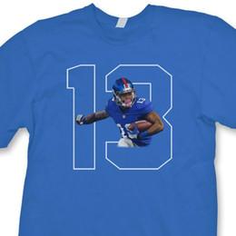 2e7611bca Beckham T Shirts NZ - Odell Beckham Jr.  13 NY Giants T-shirt